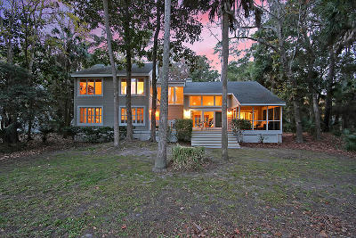 Johns Island Single Family Home For Sale: 2575 Seabrook Island Road