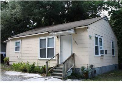 Charleston SC Single Family Home For Sale: $109,000