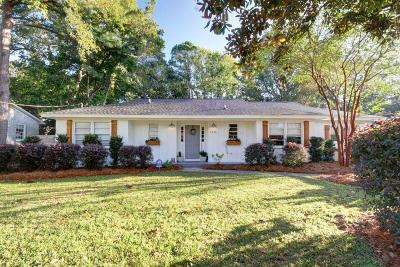 Mount Pleasant Single Family Home Contingent: 1476 Allen Street