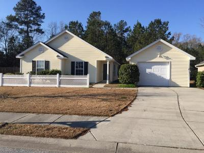 Summerville Single Family Home Contingent: 249 Moon Dance Lane