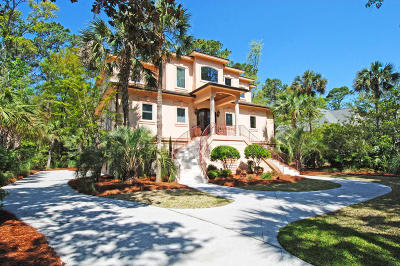 Seabrook Island SC Single Family Home For Sale: $865,000