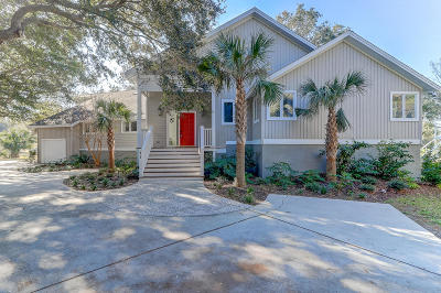 Isle Of Palms Single Family Home For Sale: 11 Hidden Green