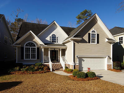 North Charleston, West Ashley Single Family Home For Sale: 8621 Woodland Walk