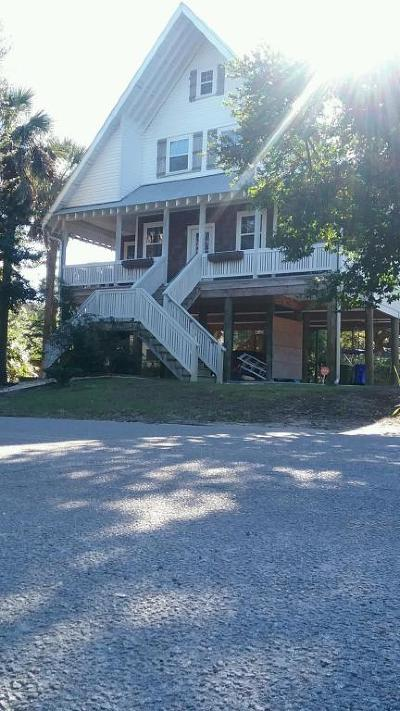 Folly Beach Single Family Home For Sale: 119 E Hudson