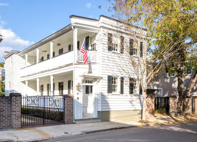 Charleston Single Family Home For Sale: 150 Tradd Street
