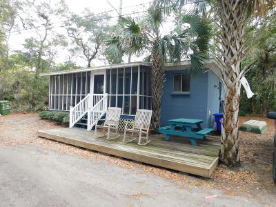 Folly Beach SC Single Family Home For Sale: $450,000
