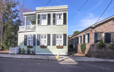 Charleston Single Family Home For Sale: 154 Tradd Street