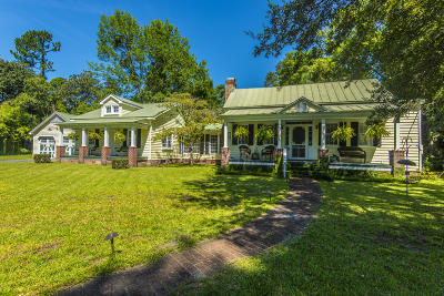 Summerville Single Family Home For Sale: 218 W Richland Street