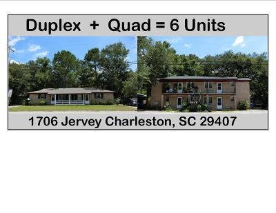 Charleston Multi Family Home For Sale: 1706 Jervey Avenue #A-F