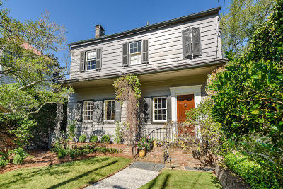 Charleston Single Family Home For Sale: Legare Street