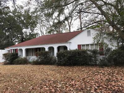 Charleston Single Family Home Contingent: 1246 Ravenel Drive