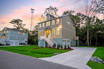 Johns Island Single Family Home Contingent: 3888 James Bay Road