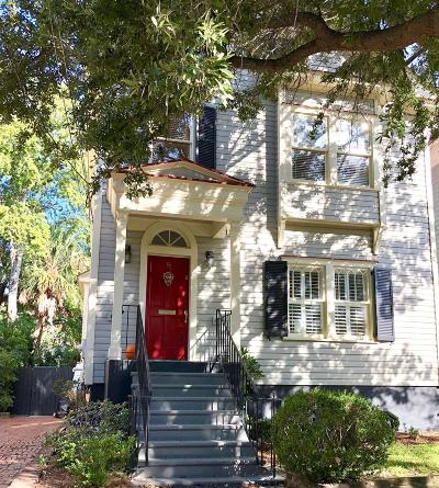 Charleston Single Family Home For Sale: 8 Halsey Street