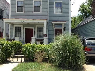 Charleston Multi Family Home For Sale: 133 Bogard Street #A/B
