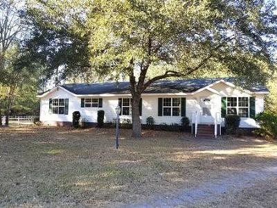 Ravenel Single Family Home For Sale: 6966 Buckhorn Road