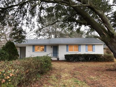 Charleston Single Family Home For Sale: 343 Cessna Avenue