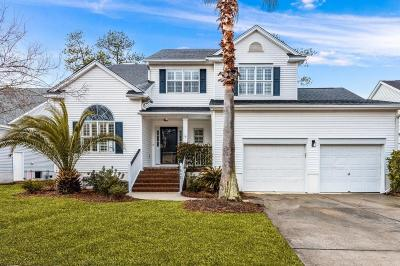Mount Pleasant, Isle Of Palms, Daniel Island, Awendaw Single Family Home Contingent: 1832 Palmetto Isle Drive