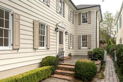 Charleston Single Family Home For Sale: 64 Church Street