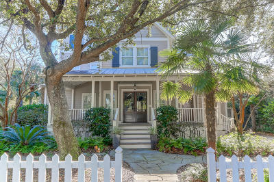 Mount Pleasant, Isle Of Palms, Daniel Island, Awendaw Single Family Home Contingent: 99 Seaside Cottage Lane