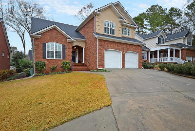 North Charleston Single Family Home For Sale: 8605 Fox Hollow Rd