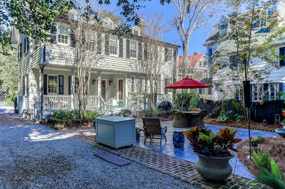 Charleston Single Family Home For Sale: 7 Gibbes Street #A