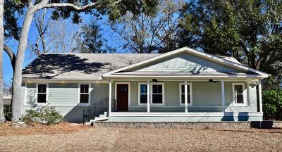 Mount Pleasant Single Family Home For Sale: 1451 Glencoe Drive