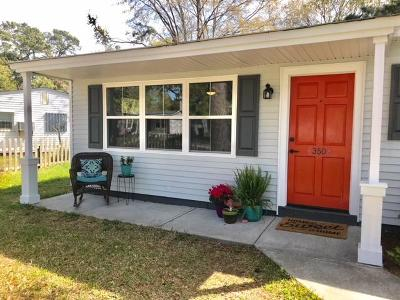 Charleston Single Family Home For Sale: 350 Cross Street