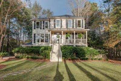 Mount Pleasant, Isle Of Palms, Daniel Island, Awendaw Single Family Home Contingent: 3746 Colonel Vanderhorst Circle