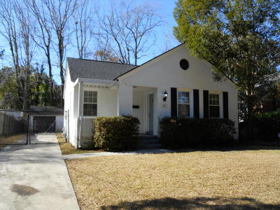 Charleston Single Family Home For Sale: 36 Colleton Drive