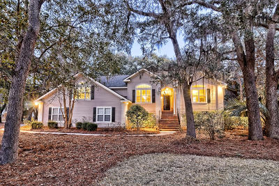 Single Family Home For Sale: 3023 Maritime Forest Drive