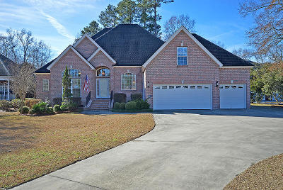 North Charleston Single Family Home For Sale: 8919 E Fairway Woods Drive