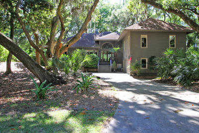 Seabrook Island Single Family Home For Sale: 2728 Seabrook Island Road