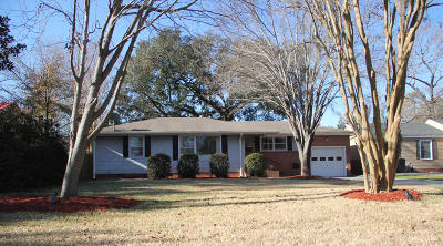 North Charleston Single Family Home For Sale: 5111 Parkside Drive