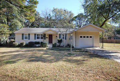 Charleston Single Family Home Contingent: 710 W Harrison Road