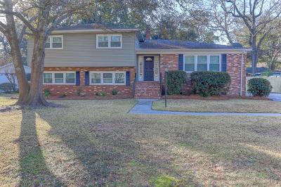 Charleston Single Family Home Contingent: 1249 S Lenevar Drive