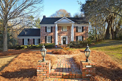 Summerville Single Family Home For Sale: 104 Brandywine Dr
