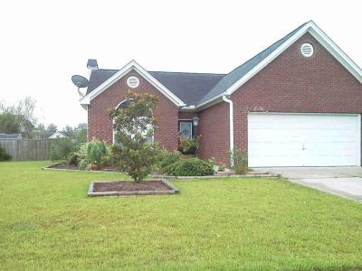 Goose Creek Single Family Home Contingent: 126 Spindle Way