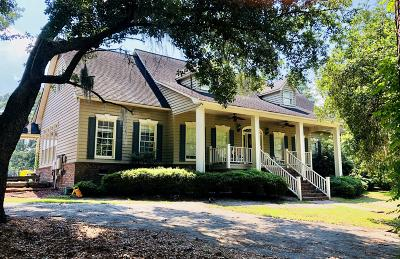Walterboro Single Family Home For Sale: 10 Dogwood Lane