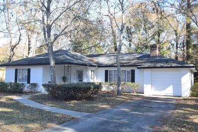 Charleston Single Family Home Contingent: 1258 Wimbee Drive