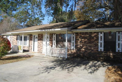 Ladson Single Family Home For Sale: 212 Parlor Drive #A &