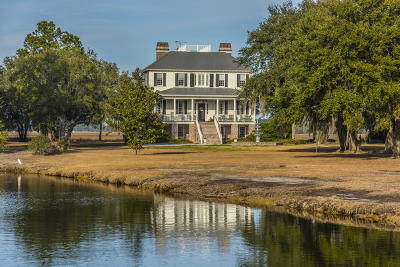 Edisto Island Single Family Home For Sale: 7845 Brickhouse Road