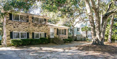 Isle Of Palms Single Family Home Contingent: 33 22nd Avenue