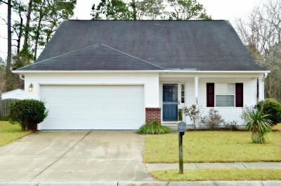 Summerville Single Family Home For Sale: 82 Creek Bend Drive