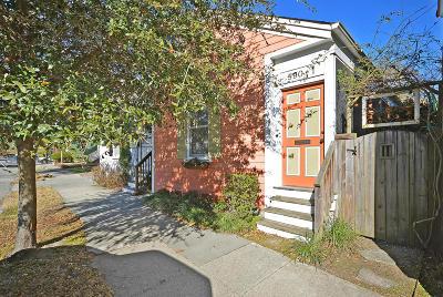 Charleston Single Family Home For Sale: 590 Rutledge Avenue #A