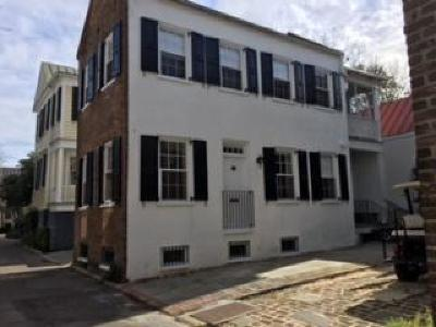 Charleston Single Family Home Contingent: 9 Lamboll Street