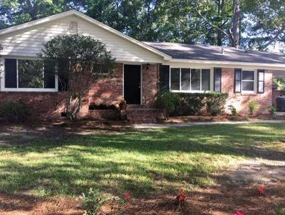 North Charleston Single Family Home For Sale: 3442 Creola Road