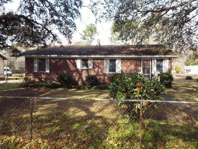 Charleston Single Family Home For Sale: 2400 Midland Park Road