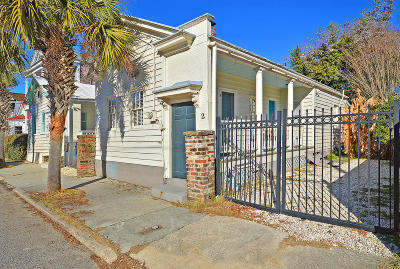 Charleston Single Family Home For Sale: 2 Larnes Street