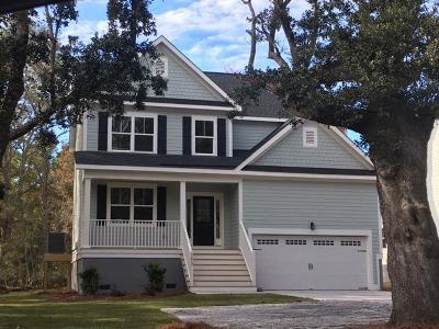 Charleston County Single Family Home Contingent: 1617 Secessionville Road