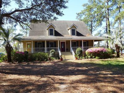 Edisto Island Single Family Home For Sale: 8727 Middleton Point Lane